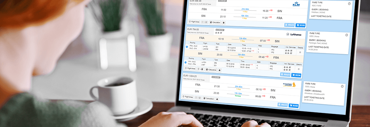 AgentPlus NDC Flight Booking Software