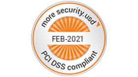 Logo PCI DSS approved by Acertigo